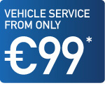 Vehicle Service from only Eur99*